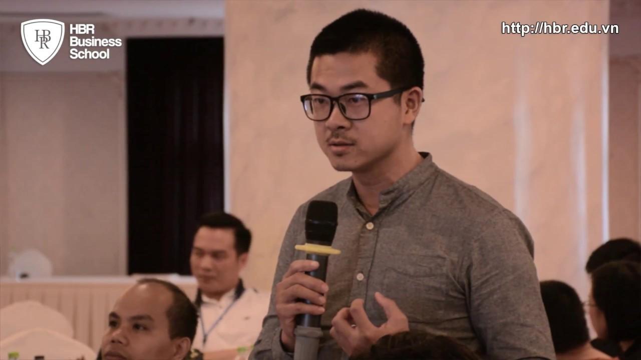 Cảm nhận học viên trường doanh nhân HBR - Học viên chia sẻ về TS Alok