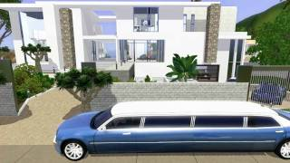 getlinkyoutube.com-SIMS 3: Celebrity Beach House (Modern Design)