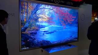 "HISENSE 110"" 4K LED TV & Transparent 3D TV"