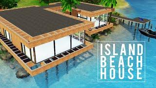 getlinkyoutube.com-The Sims 3 Speed Build — Island Beach House