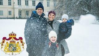 En julhälsning från Kronprinsessfamiljen