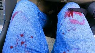 getlinkyoutube.com-I GOT COVERED IN BLOOD!