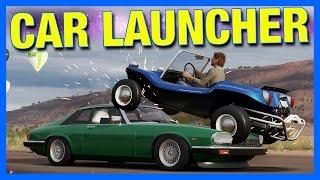 Forza Horizon 3 Online : CAR LAUNCHER!!