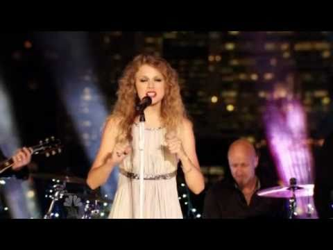 The Story of Us - Taylor Swift live with Penguins vs. Coyotes in the 2010 - 2011