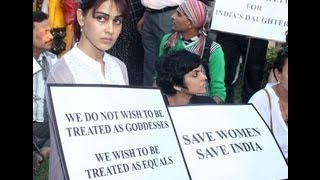 Bollywood Celebs Peace March For Nirbhaya - Photo Play