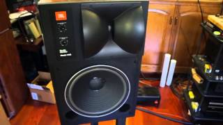 getlinkyoutube.com-Tong Li JBL 4425, Naim CD player, Audio Note Kit One 300B with Black Gate