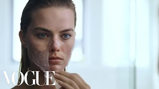 Margot Robbie's Beauty Routine Is Psychotically Perfect | Vogue width=