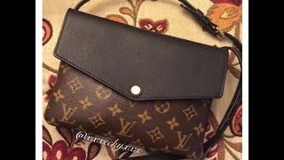 getlinkyoutube.com-Louis Vuitton Monogram Twinset Noir: Reveal + Review + What Fits Inside