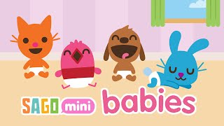 getlinkyoutube.com-Sago Mini Babies: Kids Activity App