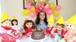 getlinkyoutube.com-Festa de Aniversário Baby Alive Carol!