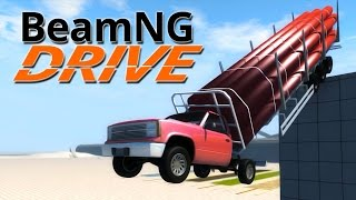 getlinkyoutube.com-BeamNG.Drive #4 | CRUSHED TO BITS!!