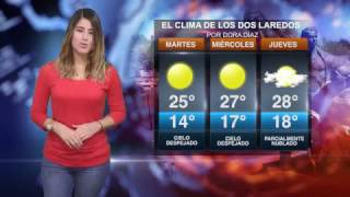 CLIMA MARTES 14 MARZO 2017