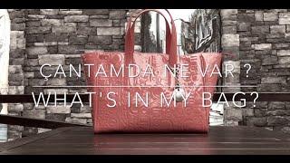 getlinkyoutube.com-|         Çantamda Ne Var?          |       What's in My Bag?       |