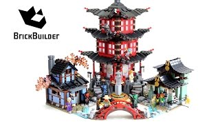 getlinkyoutube.com-Lego Ninjago 70751 Temple of Airjitzu - Lego Speed build