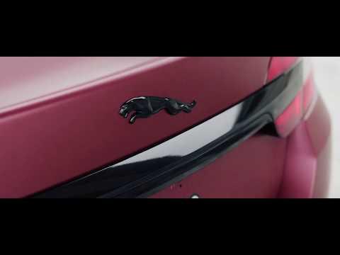 Jaguar XF - оклейка в пленку Oracal 970 Red Brown Metallic Matt