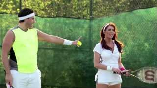 getlinkyoutube.com-Arg and Amy beat Mark and Lauren at Tennis - The Only Way Is Essex