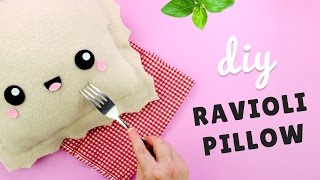 getlinkyoutube.com-DIY Ravioli Pillow | Kawaii Room Decor