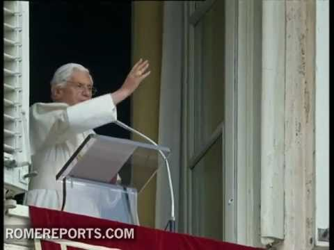 Pope talks about