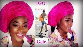 getlinkyoutube.com-Igo Shows How to Tie a Gele