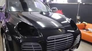getlinkyoutube.com-Как украсть фары с Porsche Cayenne за 5 сек