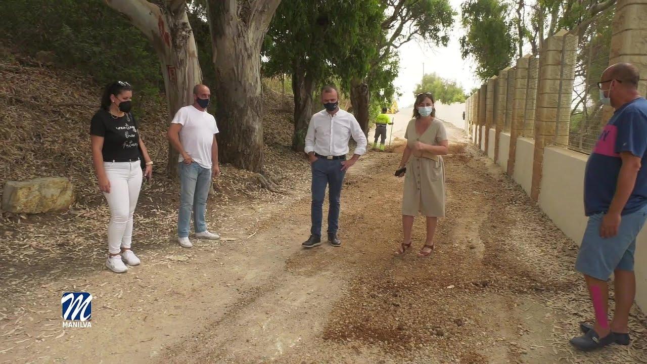 Mejoras en los accesos a las playas limítrofes de Manilva