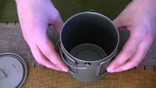 getlinkyoutube.com-титановый котелок TOAKS 750ml