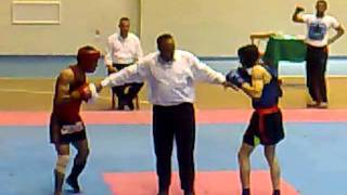 getlinkyoutube.com-kung fu sanda round 1.مباراة فى الكونغ فو ساندا