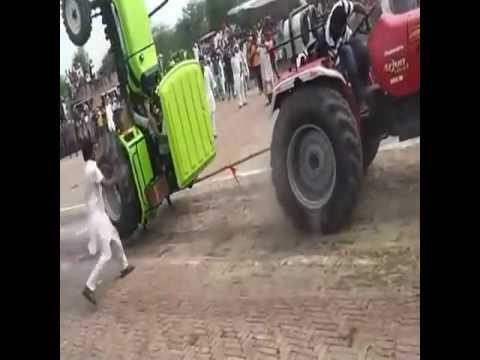 acidente de trator no cabo de aço