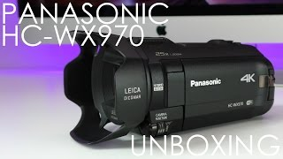 getlinkyoutube.com-Panasonic HC-WX970 4K Ultra HD Video Camera Unboxing & First Look