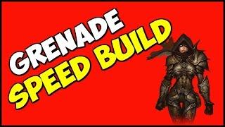 getlinkyoutube.com-Diablo 3 UE Grenade speed/bounty build Season 9 patch 2.4.3 Demon Hunter