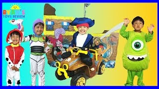 getlinkyoutube.com-CUTE KIDS COSTUMES SHOW Disney Junior Mickey Mouse Nick Jr. Paw Patrol Power Wheels Cars McQueen