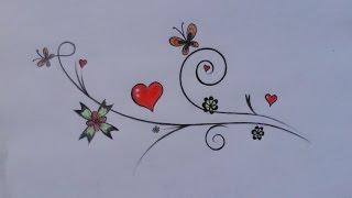 getlinkyoutube.com-كيف أرسم زخرفة بسيطة