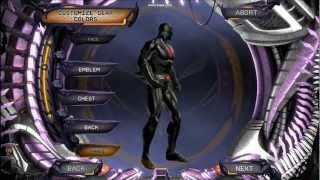 DC Universe Online Batman Beyond character creation(HD)