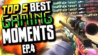 getlinkyoutube.com-TOP 5 BEST GAMING MOMENTS - AWP ACE, & FEEDS FOR DAYS! | EP.4
