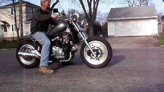 getlinkyoutube.com-V65 Honda Bobber Willy Custom
