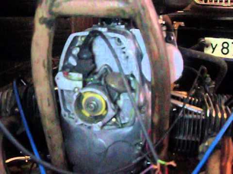 Двигатель днепра. коренные подшипники скольжения.