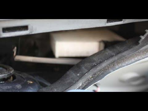 Как заменить воздушный фильтр кабины на ... C3