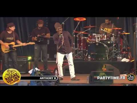 ANTHONY B - Live HD at Reggae Sun Ska 2012 by Partytime.fr