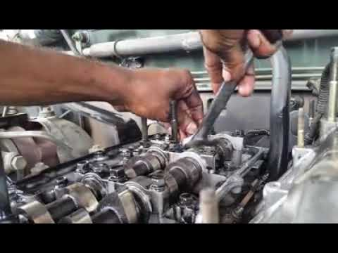 Isuzu 4JX1 injector sleeve removing by home made tool