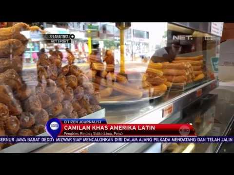 Chorrus, Cemilan Khas Amerika Latin - NET12