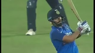 Unbelievable six by Virat Kohli vs England on Pune oneday from stadium