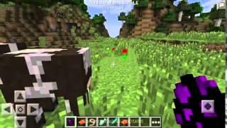 getlinkyoutube.com-Minecraft PE 0.13.0 Dragões e Cavalos