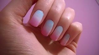 """getlinkyoutube.com-Как сделать маникюр """"Градиент"""" в домашних условиях? (Gradient Nails)"""