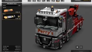 getlinkyoutube.com-[ETS2]Euro Truck Simulator 2 Renault Magnum 2009 Wrecker