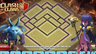 CoC TH 10 Anti GoWiPe! NO STAR BASE!!! With 5 Replays from Max GoWiPe!!! Speedbuild!