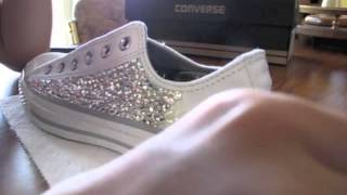 getlinkyoutube.com-Swarovski Converse!