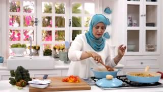 اللحم على الطريقه الصينى+أرز صينى- مطبخ أسيا - أسيا عثمان - الحلقه الثالثه والثلاثون - الجزء الثانى