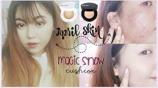 getlinkyoutube.com-(Acne Skin) April Skin Magic Snow Cushion Review