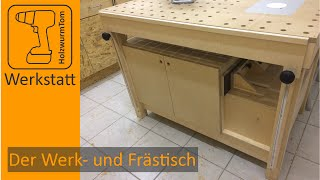 download video impressionen vom eigenbau meiner multifunktionalen werkbank. Black Bedroom Furniture Sets. Home Design Ideas
