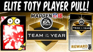 getlinkyoutube.com-OMG MUT 16 ELITE TEAM OF THE YEAR PLAYER! TOTY Exchange & Player Pack in Madden 16 Ultimate Team